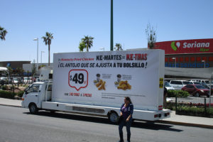Vallas móviles Chihuahua