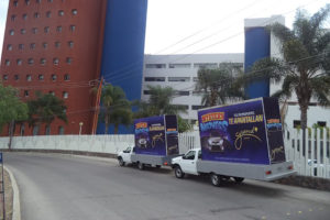Vallas móviles León
