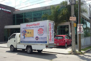 Vallas móviles Aguascalientes