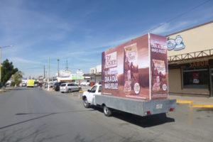 Vallas móviles Coahuila