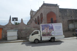 Vallas móviles Oaxaca