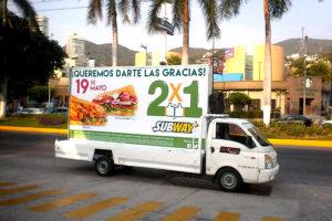 Vallas móviles Acapulco