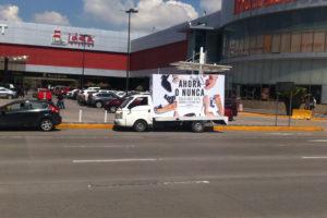 Vallas móviles Puebla