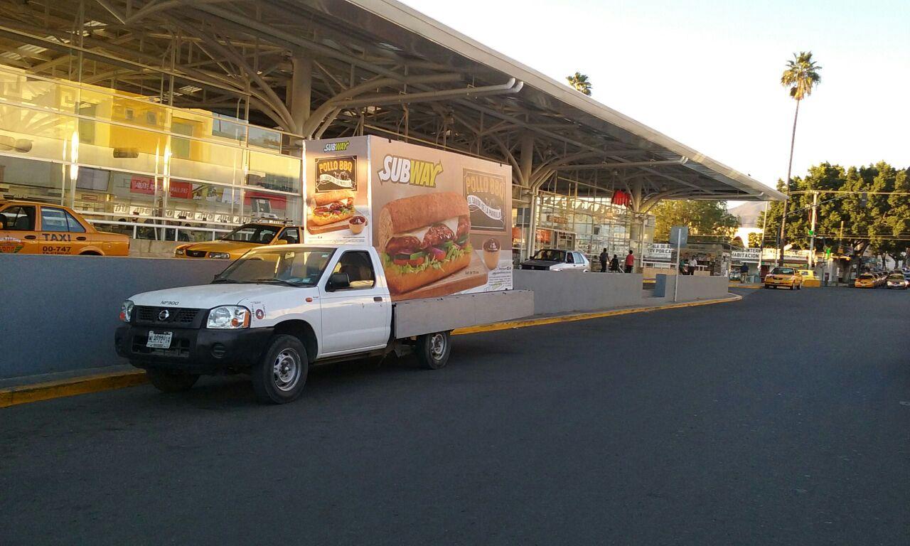 vallas moviles en Oaxaca