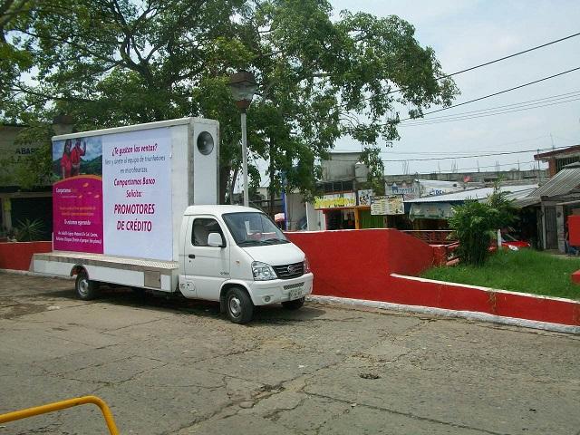 publicidad movil en villahermosa